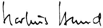 Unterschrift Markus Herbran