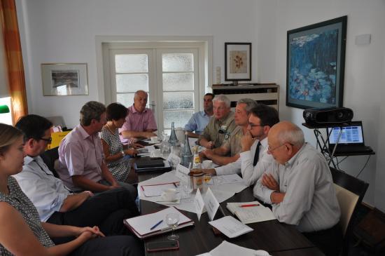 Gespräch mit Vertretern von Nordeifel-Tourismus, der regionalen Tourismus-Wirtschaft und den Nationalparks der Eifel