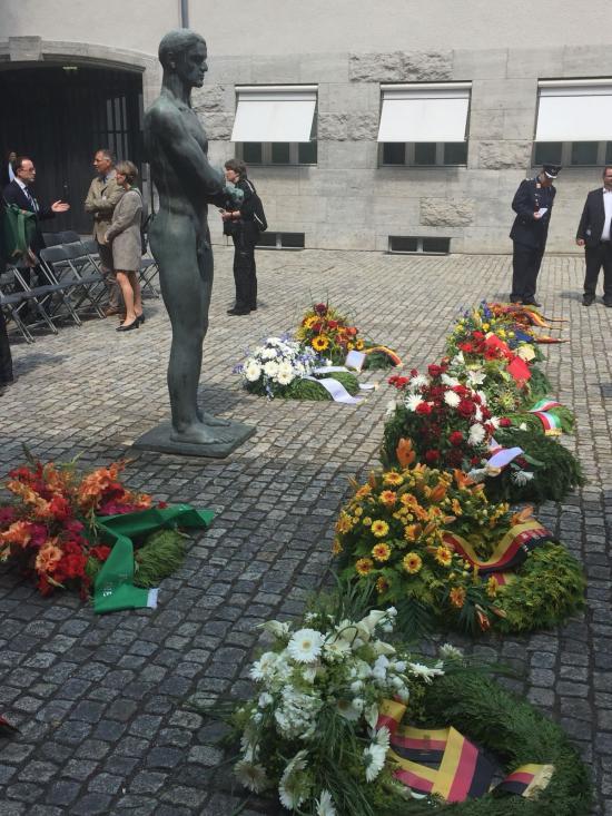 Gedenken an den Widerstand gegen die Nazi-Diktatur