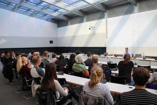 Besuchergruppe Käthe Kollwitz-Gymnasium Wesseling