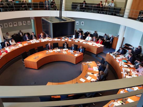 Sitzung des Finanzausschusses