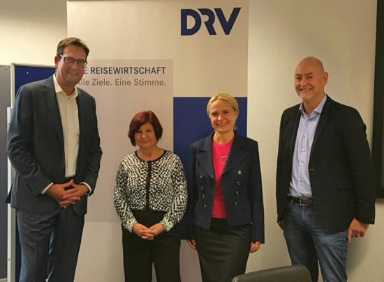 Diskussion im Steuerausschuss des Deutschen Reiseverbandes (DRV)