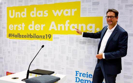 Halbzeitbilanz der FDP-Bundestagsfraktion